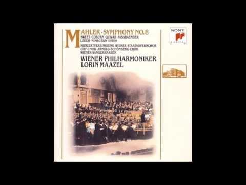 """మాహ్లర్  -  సింఫనీ  No.8 ఇ ఫ్లాట్ మేజర్  """"Symphonie der Tausend"""" Maazel వియన్నా ఫిల్హర్మోనిక్"""