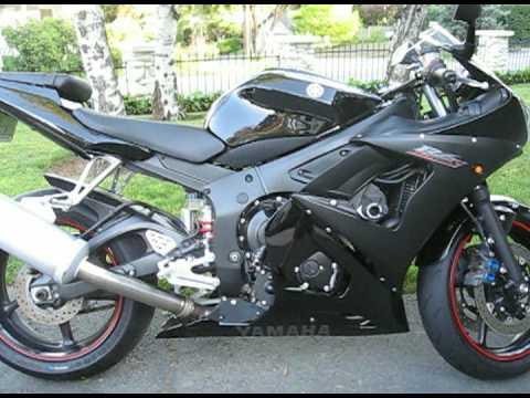 Black Yamaha 2003 R6 Raven For Sale