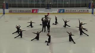2018 National Theater on Ice Competition  | Intermediate Choreographic Exercise