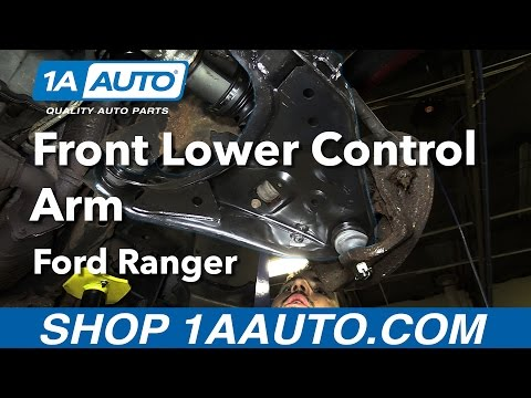 How to Replace Install Front Lower Control Arm 98-11 Ford Ranger Buy Quality Parts from 1AAuto.com