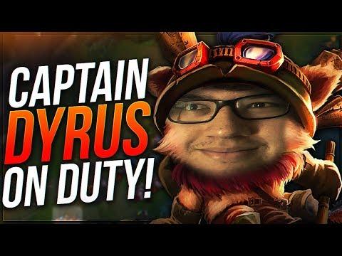 CAPTAIN DYRUS ON DUTY