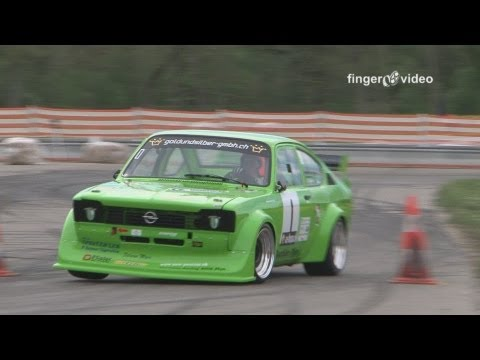 BEST OF Time Attack Slalom Swiss 2012 Opel Kadett Lancia S4 Porsche 935 BMW M3 E30