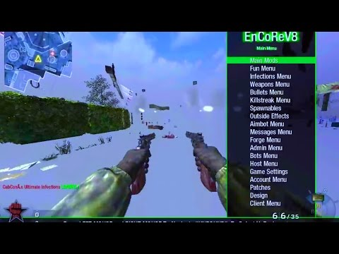 [PREVIEW/TUTORIAL]Call of Duty: Black Ops Multiplayer/Zombie Mod Menu For [Mac/PC]
