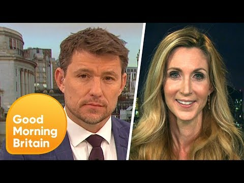 Ann Coulter Clashes With Ben Shepherd Over Anti-Muslim Tweets | Good Morning Britain
