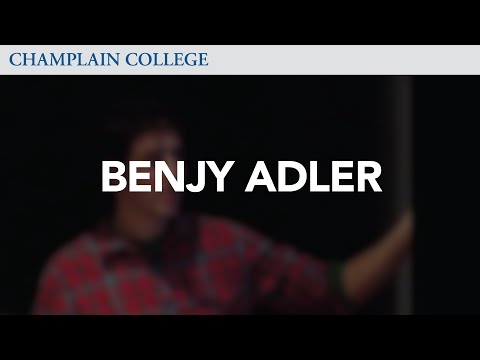 Benjy Adler: Speaking from Experience
