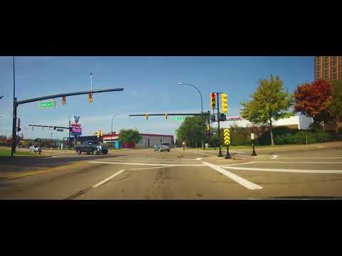 Driving Around Battle Creek, Michigan
