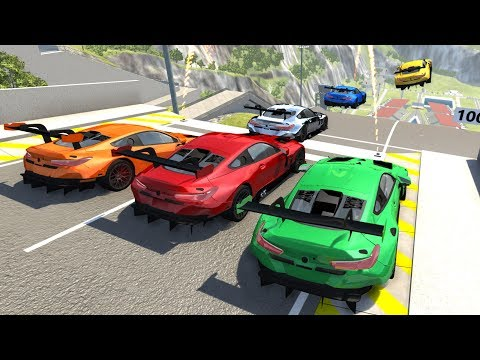 High Speed Jumps/Crashes #48 - BeamNG Drive Crash Testing