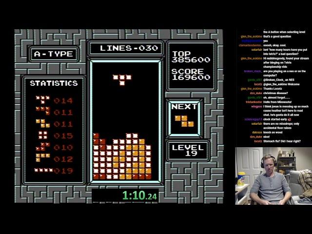 Consigue un nuevo récord de Tetris... accidentalmente