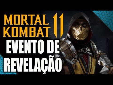 🔴 MORTAL KOMBAT 11 - GAMEPLAY, PERSONAGENS E TODAS AS REVELAÇÕES! thumbnail