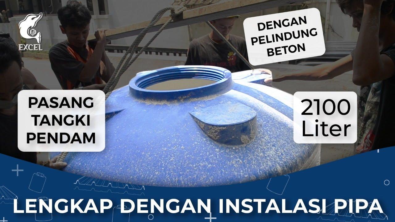 Pasang tandon air bawah tanah EXCEL & instalasi pipa lengkap   Hindari kesalahan instalasi tandon !