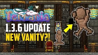 Terraria 1.3.6 SPOILERS! NEW VANITY? Not Confirmed! | PC NEWS