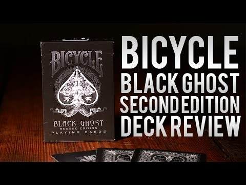 Deck Review - Ellusionist Black Ghost 2nd Edition Playing Cards