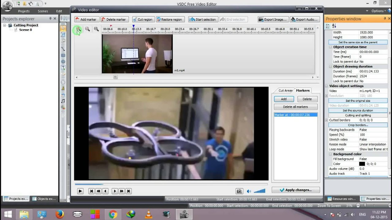 How to cut and split video using vsdc video editor youtube how to cut and split video using vsdc video editor ccuart Images