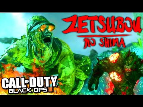 "BLACK OPS 3: NOUVEAU ZOMBIES ""ZETSUBOU NO SHIMA"" GAMEPLAY"