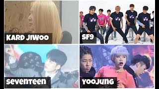 ◣Kpop idols singing/dancing to BTS (방탄소년단) songs compilation part 5◥
