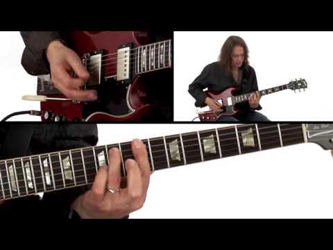 Robben Ford Guitar Lesson - C# Funky Vamp Breakdown 1