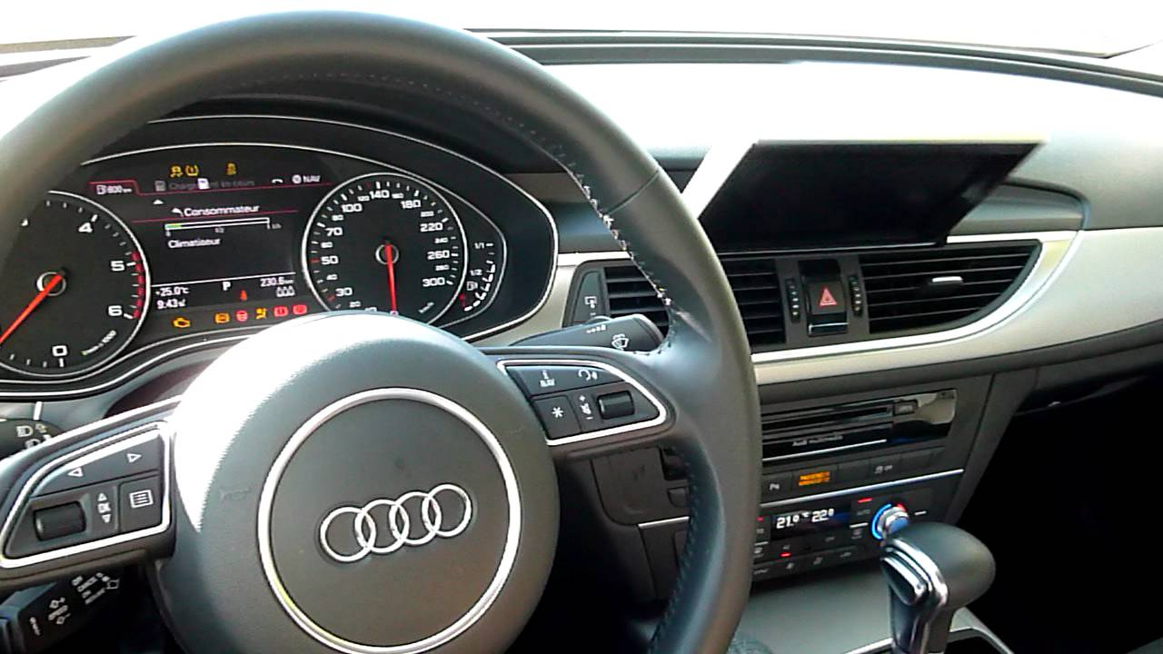 s quence d marrage audi a6 3 0 tdi 2011 youtube. Black Bedroom Furniture Sets. Home Design Ideas
