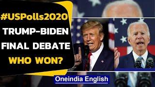 #USPolls2020: Trump-Biden lock horns in the final debate, some key highlights | Oneindia News