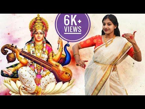 saraswati-puja-dance-||-saraswati-vandana-||-jay-jay-devi-||-sayani-palit-||-semi-classical-dance