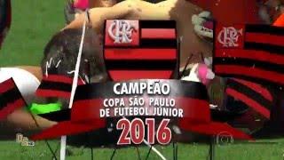 Gols e pênaltis Corinthians 2 x 2 Flamengo (3 x 4 pên) - Final Copa São Paulo Jr. 2016