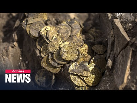 1,000-year-old Pure Gold Coins Discovered In Israel