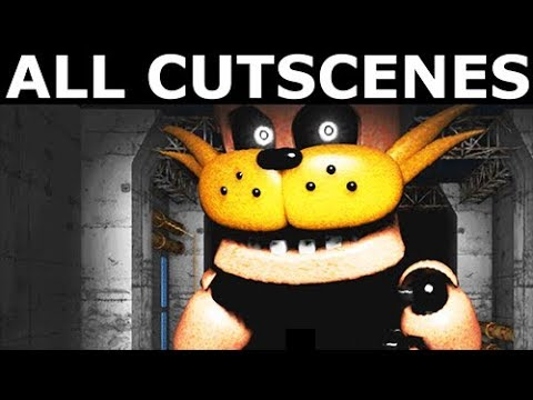JOLLY 3: Chapter 1 & 2 - Full Story & All Cutscenes (FNAF Horror Game 2018)