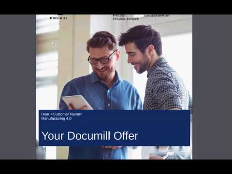 User Experience demo of Documill Dynamo doc gen app for Salesforce.