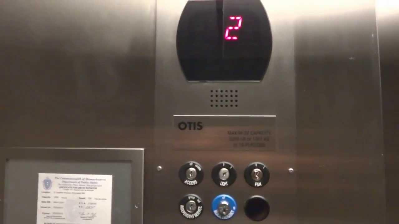 Worcester Otis Series 5 Hydraulic Elevator Eastern
