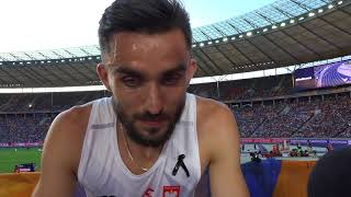Adam Kszczot (POL) after the Semifinals of the 800m