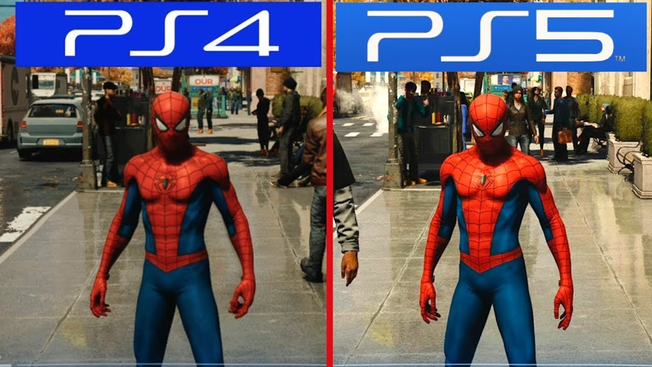 PS5 vs PS4: Perfomance Test Comparison (PlayStation 5) - YouTube