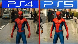 PS5 vs PS4: Perfomance Test Comparison (PlayStation 5)