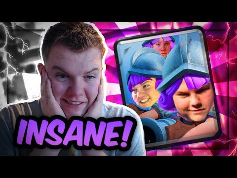SUPER OP! 3 Musketeers Lumberjack Deck LIVE Grand Challenge Gameplay - Clash Royale