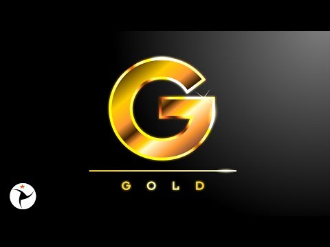 🌟 3D GOLD TEXT EFFECT COREL DRAW TUTORIAL 🌟