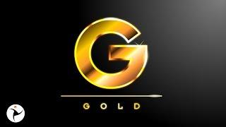 3D GOLD TEXT EFFECT COREL DRAW TUTORIAL