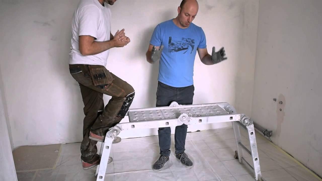 Купить шарнирные лестницы-трансформеры 4-х секционные в минске с доставкой. Низкие цены на шарнирные лестницы-трансформеры.
