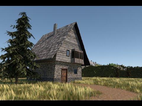 Modeling a house in blender