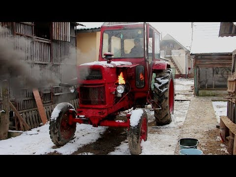 Universal 650M Tractor Cold Start