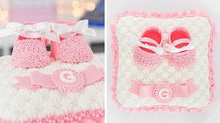 Baby Shower  3D Pillow Cake  Tan Dulce
