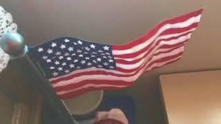 Animated Waving U.S. Flag