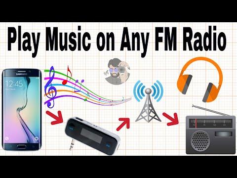 Transmit Music To any FM Radio Device