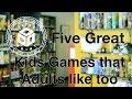 Kids Games That Adults Enjoy
