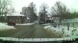 Воронеж. Фура без тормозов