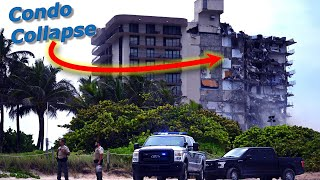 Miami Condo Collapse 4K Video From Street What News WON'T Show!