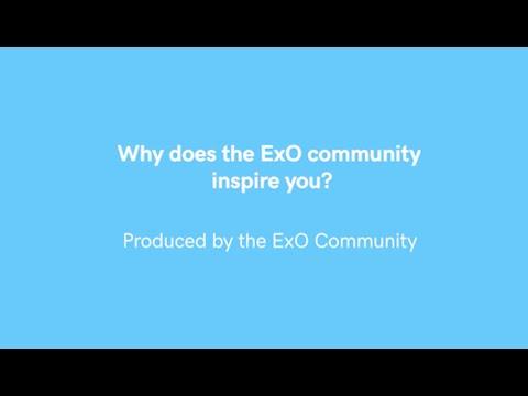 ¿Qué te inspira de la comunidad @OpenEXO?