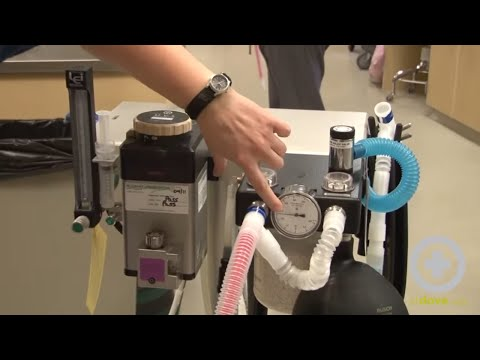 Testing Anesthesia Machine For Leaks