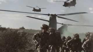 British Army power demonstration 2014