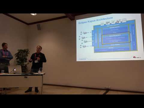 Real World IoT: Architectures and Projects with Eclipse IoT - EclipseCon Europe 2016 IoT Day