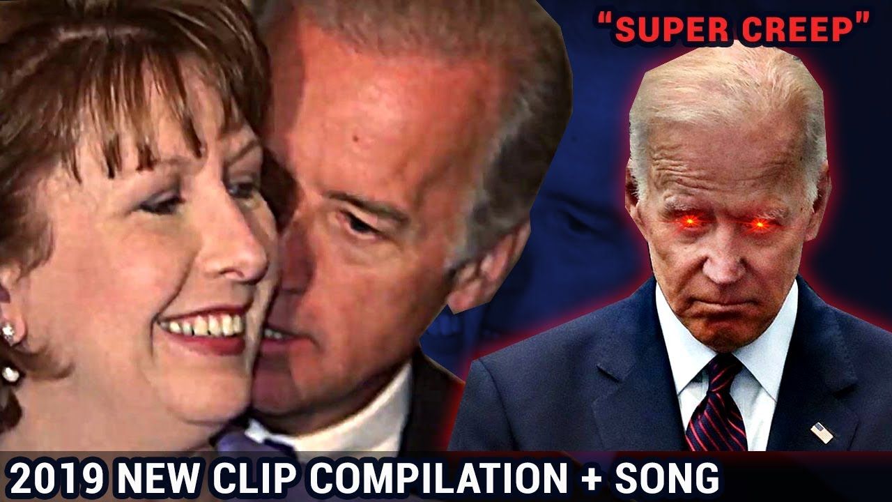 'Super Creep' | Joe Biden Creepy Clips  | Parody Song  PLEASE SHARE!! #trump2020 #trump #m