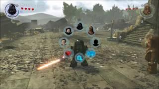 LEGO Звёздные Войны : Пробуждение Силы ( Свободная игра - обзор )