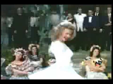 """Vera-Ellen & Dick Haymes in """"Wedding Dance"""""""